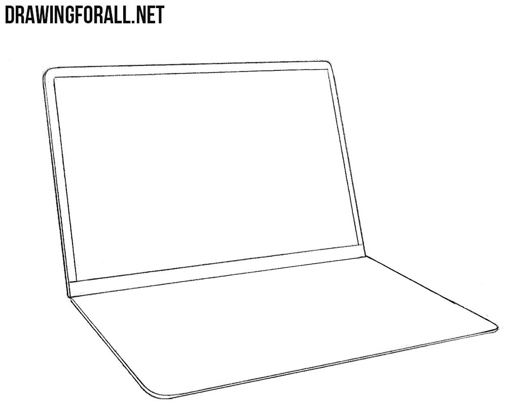 How to sketch a macbook