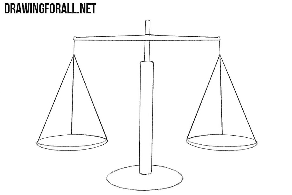 Scales drawing tutorial