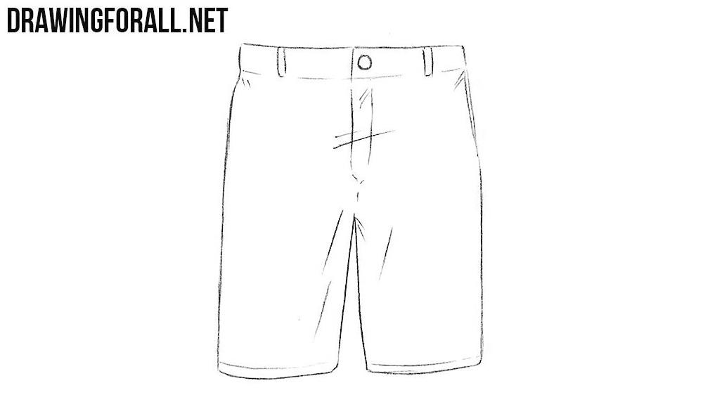 Shorts drawing tutorial