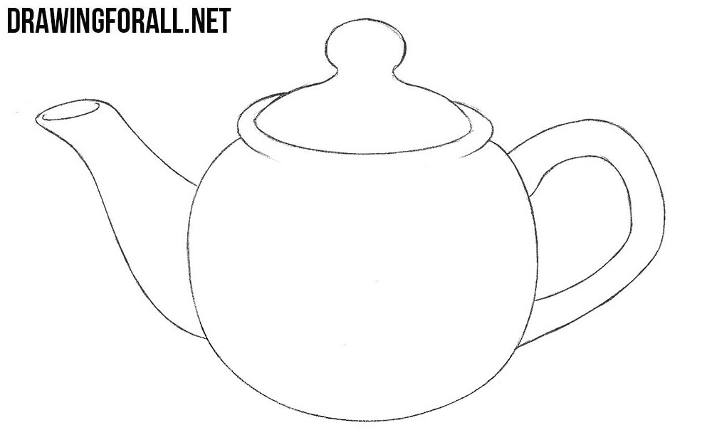 Teapot drawing tutorial