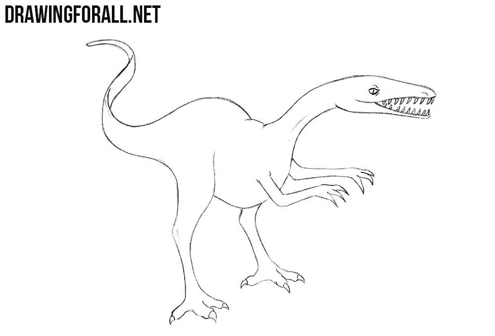dinosaur drawing