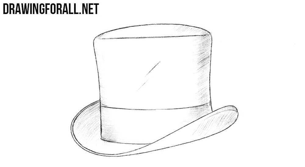5 How to draw a top hat
