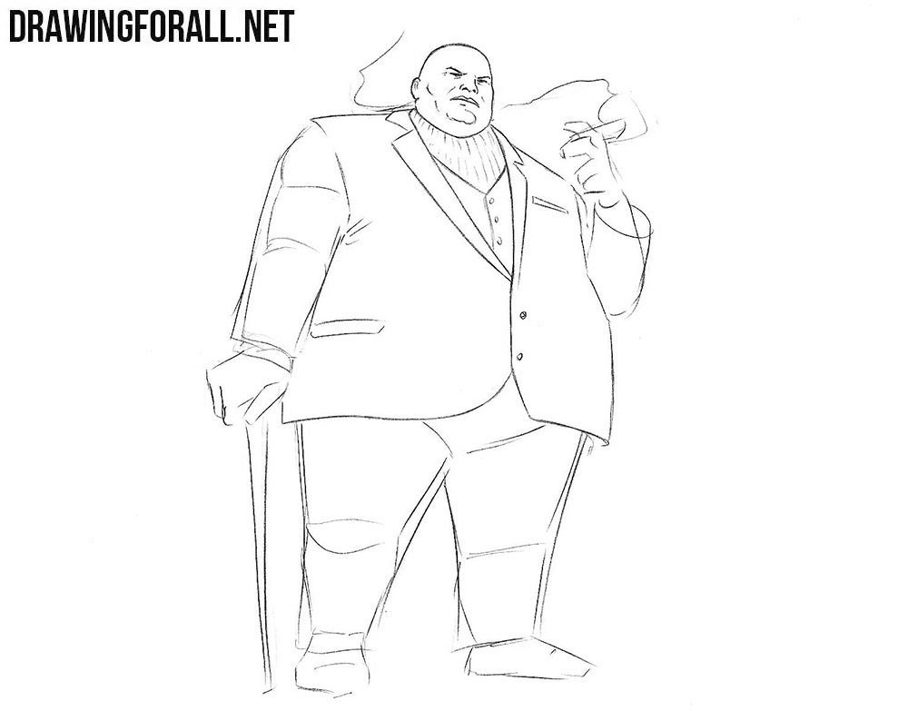 How to sketch Kingpin