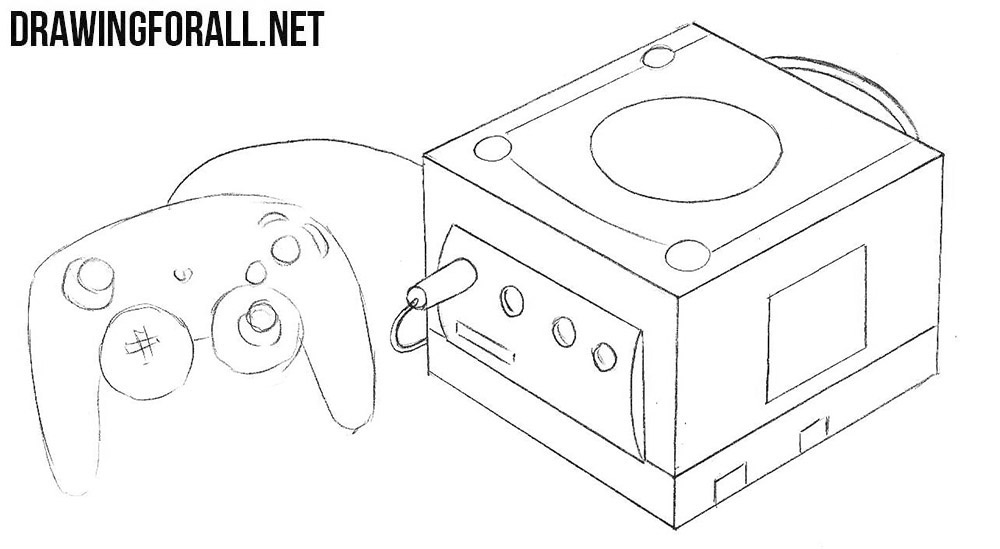 How to sketch a Nintendo GameCube