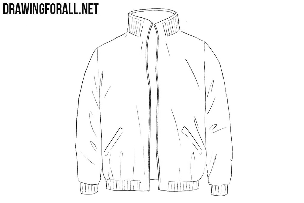 Jacket drawing tutorial