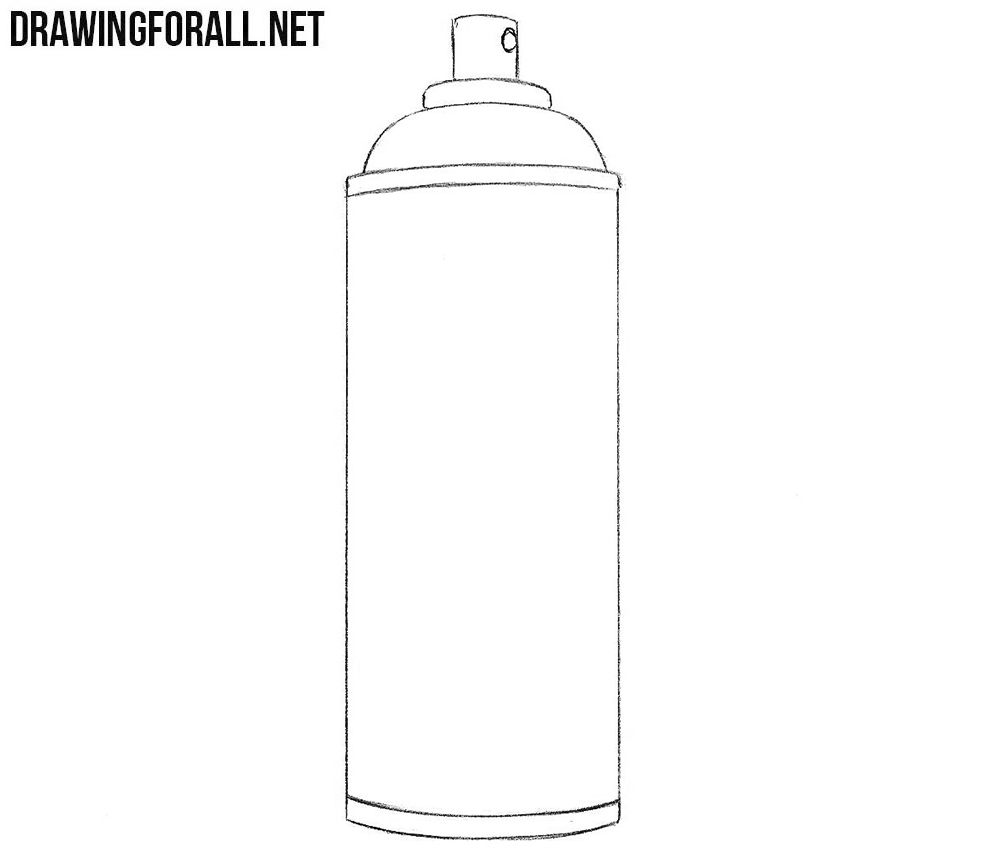 Spray can drawing tutorial