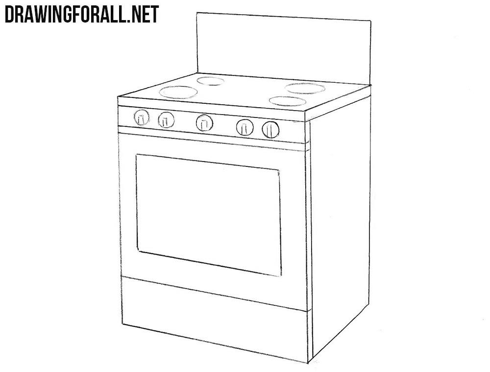 92  stove top drawing