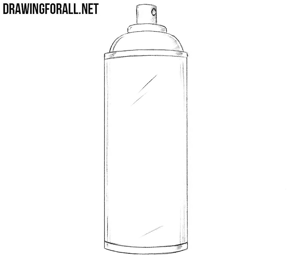 How To Draw A Graffiti Spray Can Step By Step >> Hasshe.Com
