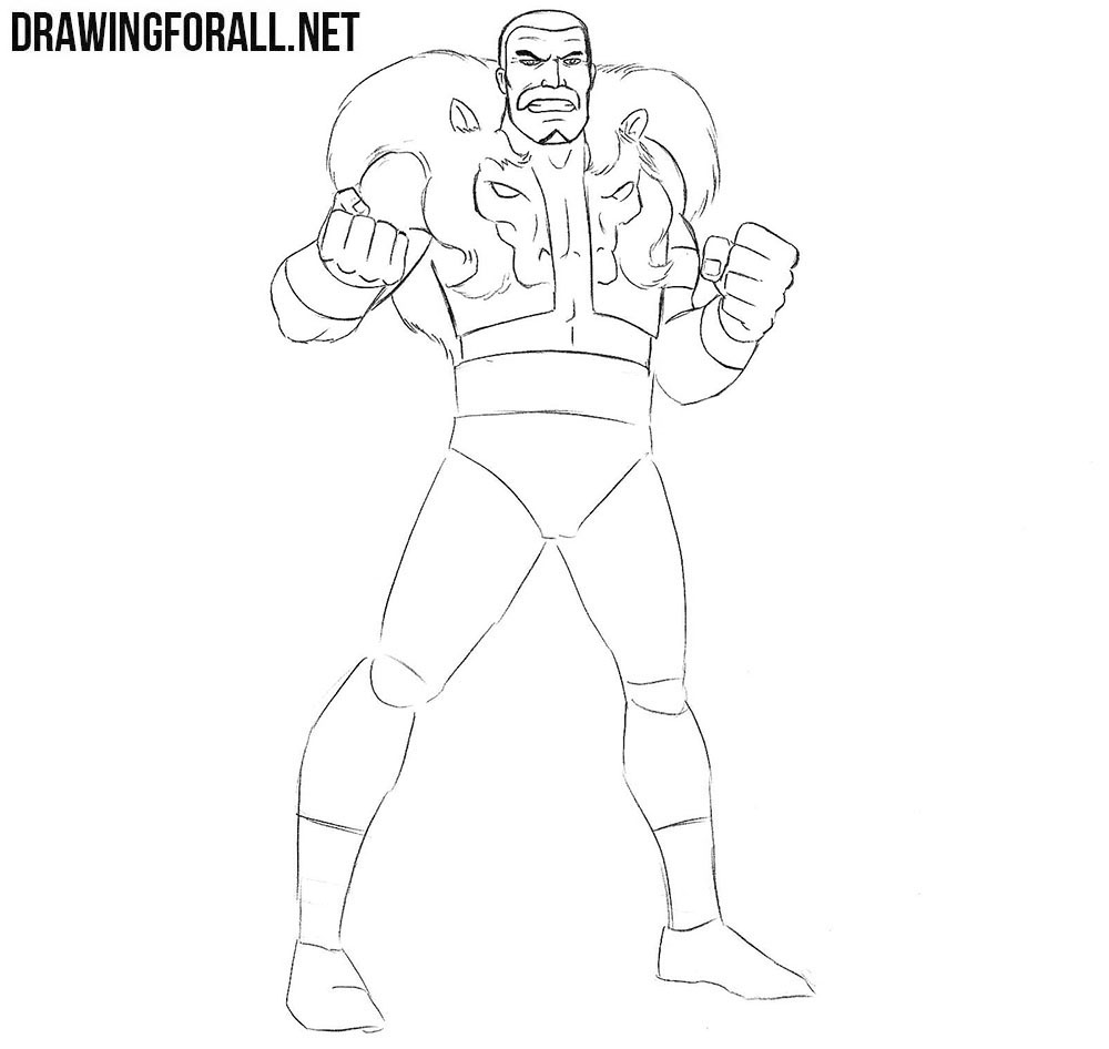 Learn to draw Kraven the Hunter