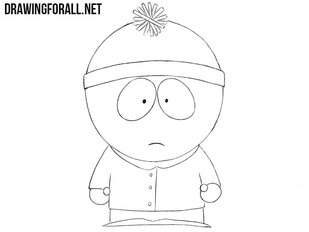 How to draw Stan Marsh