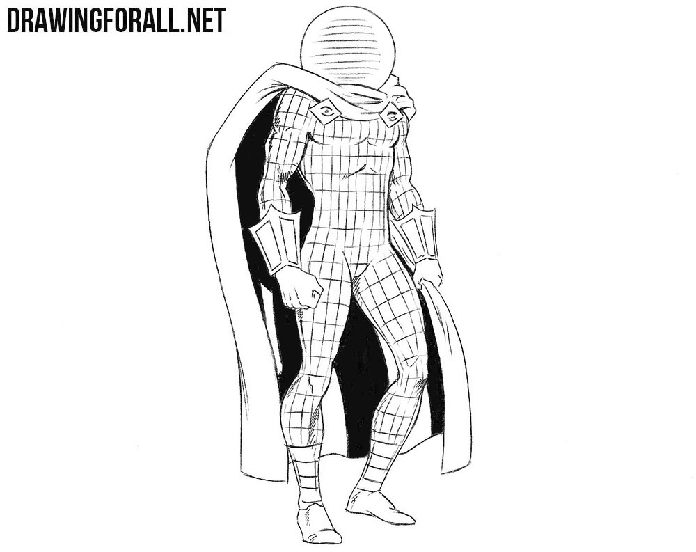 mysterio spiderman coloring pages - photo#25