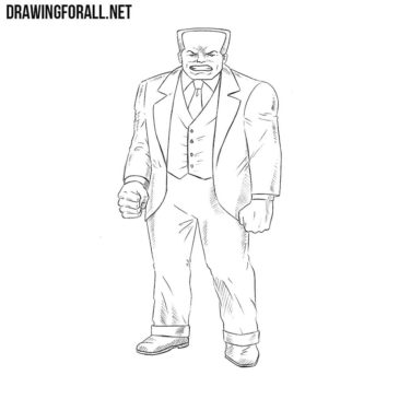 How to draw Hammerhead from Marvel