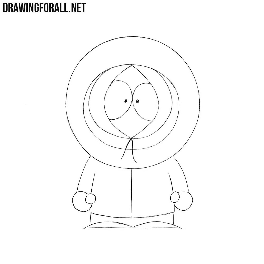 How to Draw Kenny from South Park