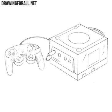 How to Draw a Nintendo GameCube