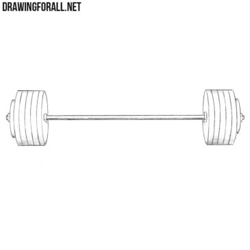 How to Draw a Barbell