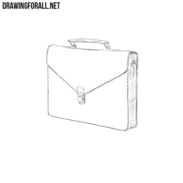 How to Draw a Briefcase