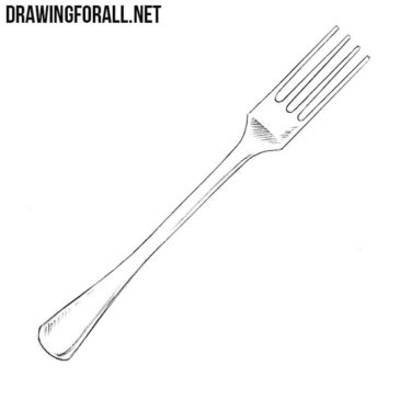 How to Draw a Fork