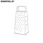 How to Draw a Grater