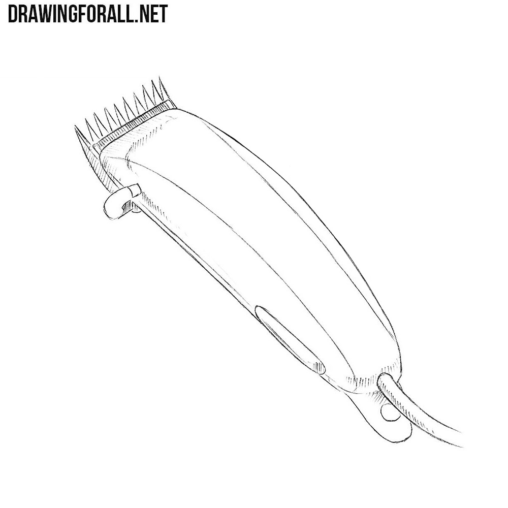How to Draw a Hair Clipper
