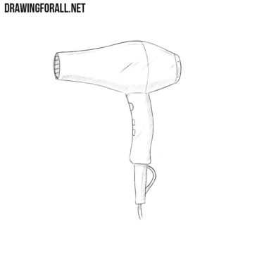 How to Draw a Hair Dryers