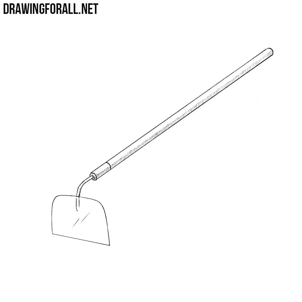 How to Draw a Hoe