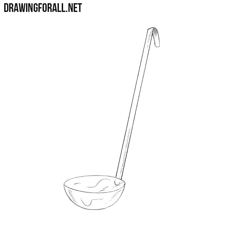 How to Draw a Ladle
