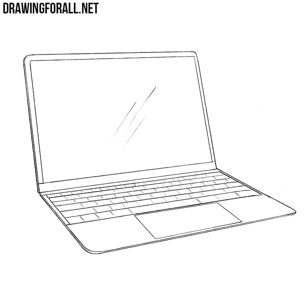How to Draw a Macbook