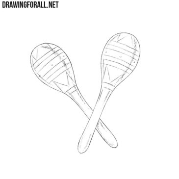 How to Draw Maracas