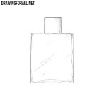How To Draw a Perfume Bottle