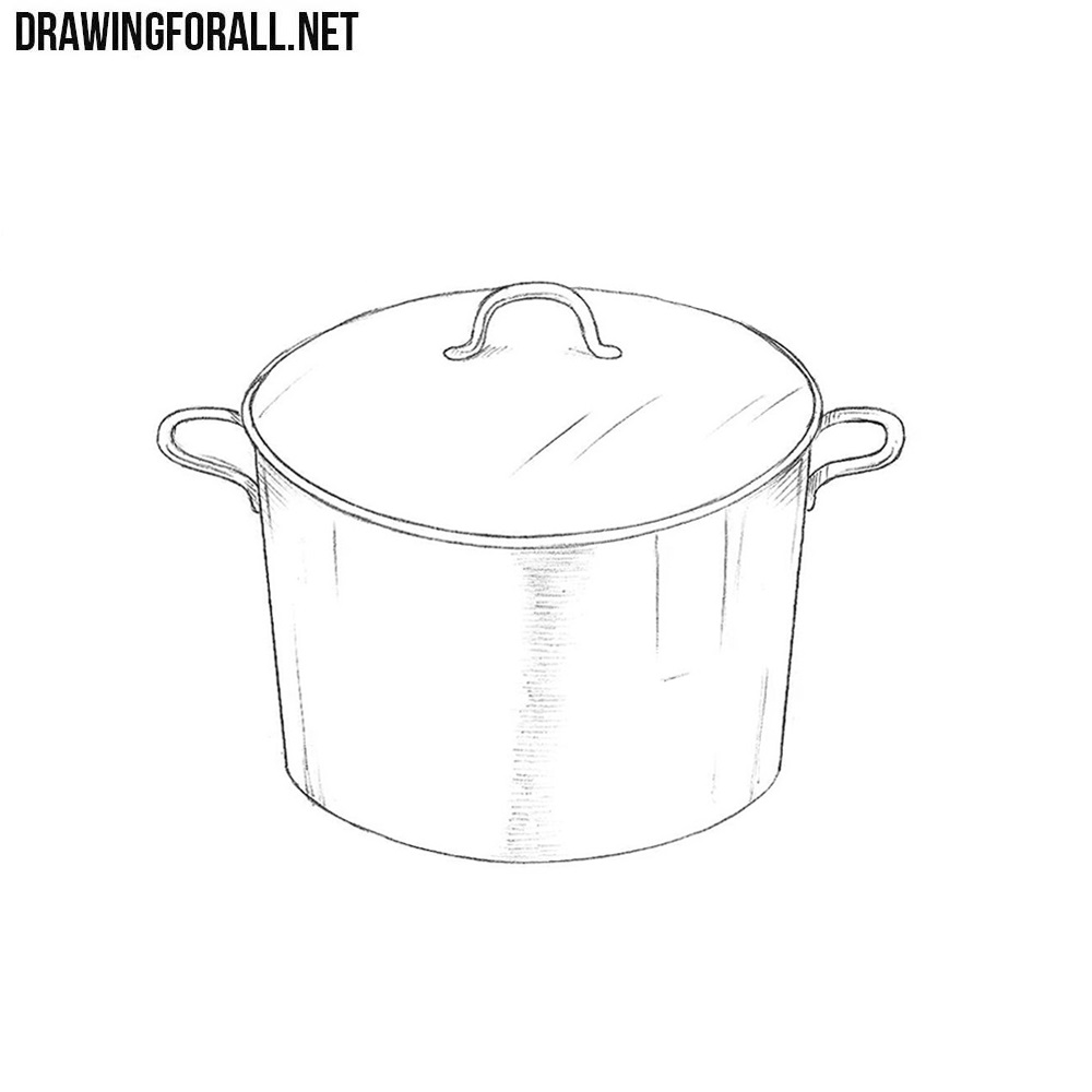 How to Draw a Saucepan