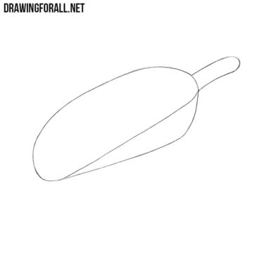 How to Draw a Scoop