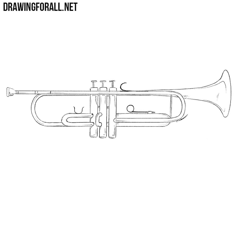 How to Draw a Trumpet