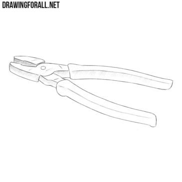 How to Draw Pliers