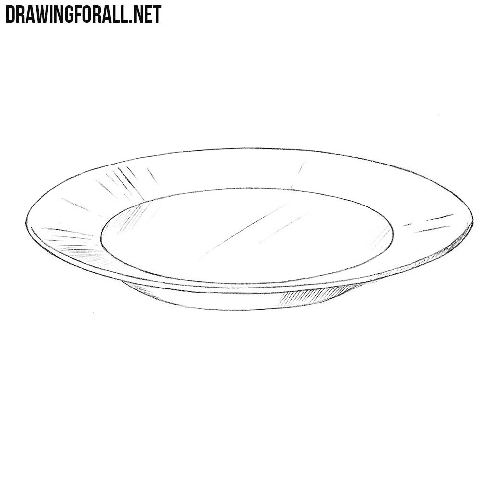 How to Draw a Plate