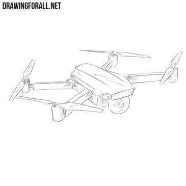How to Draw a Quadcopter