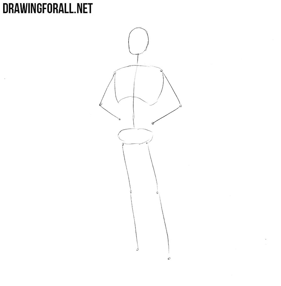 How to draw Angel Marvel