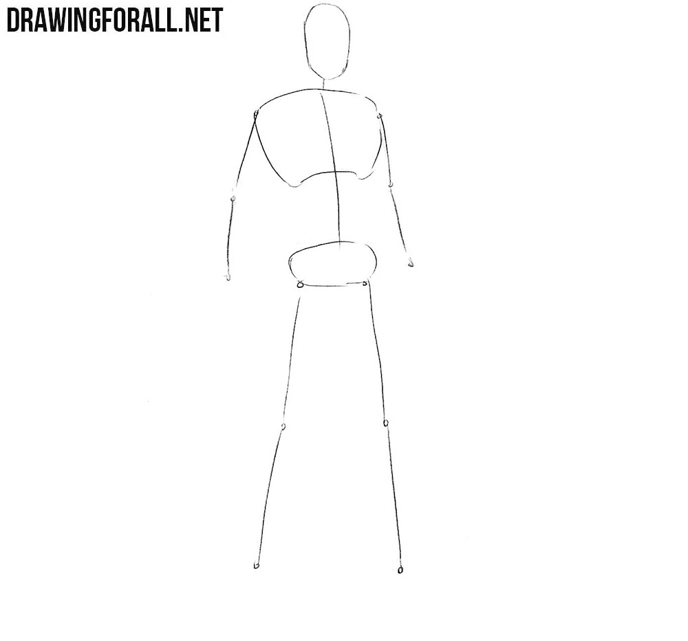 How to draw Darwin