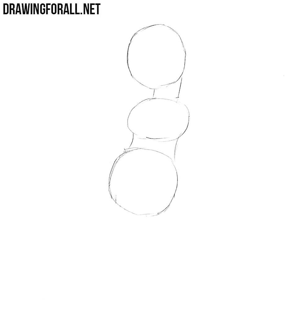 How to draw Edna Krabappel