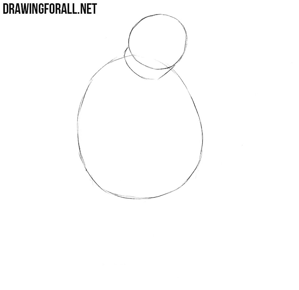 How to draw Fat Tony