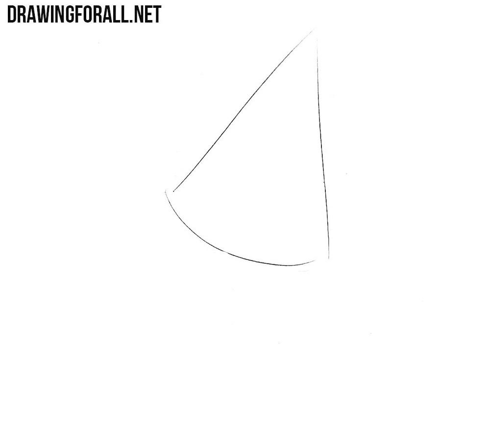 How to draw Kasa-Obake