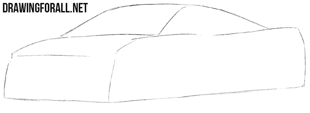 How to draw a Mclaren 650s
