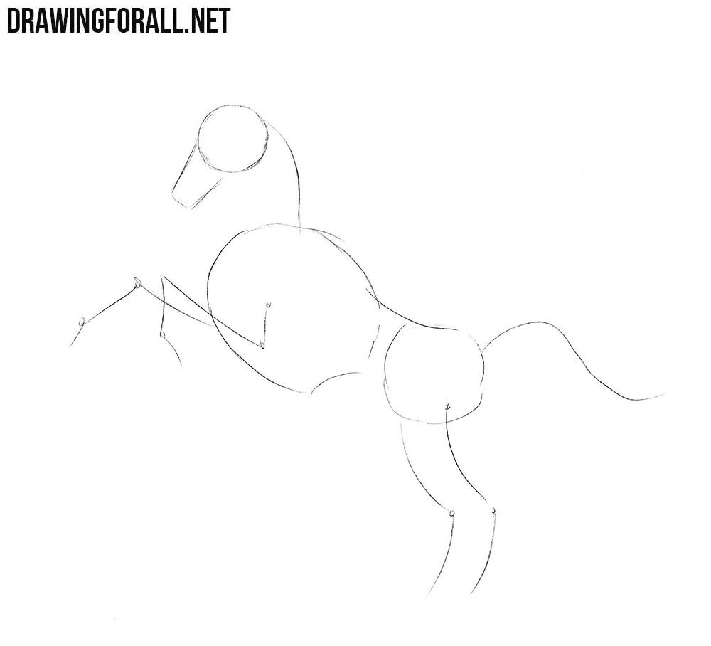 How to draw a Pegasus