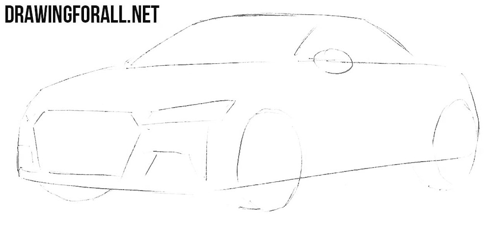 How to Draw a Coupe Audi