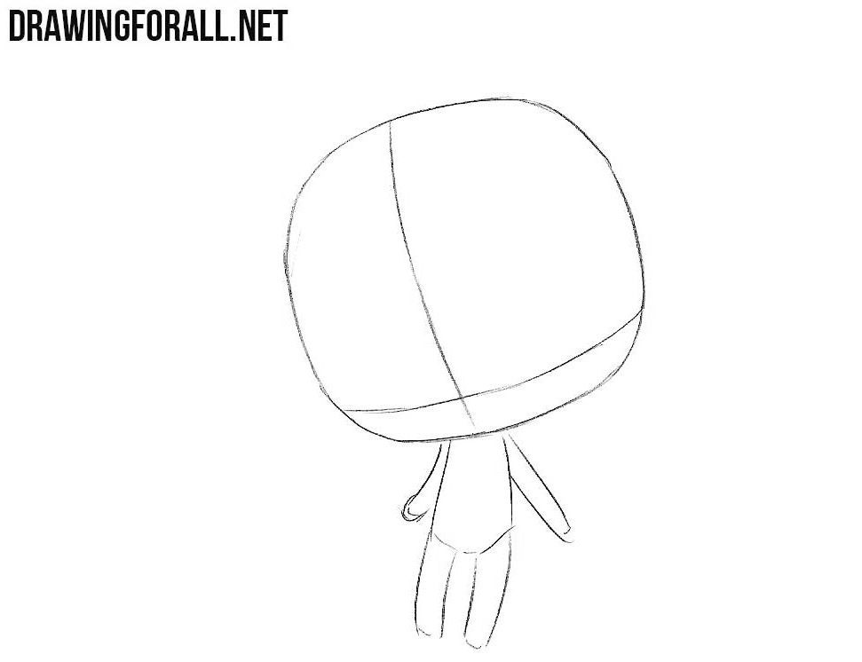 How To Draw Cute Chibi Girl Drawingforall Net