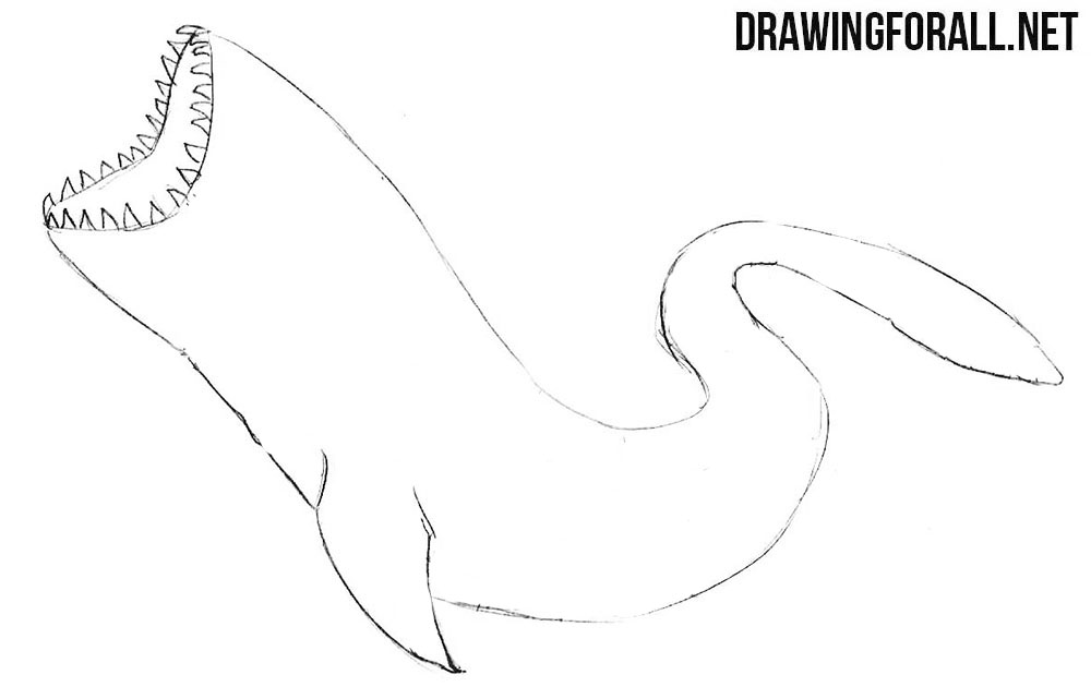 How to draw Charybdis step by step
