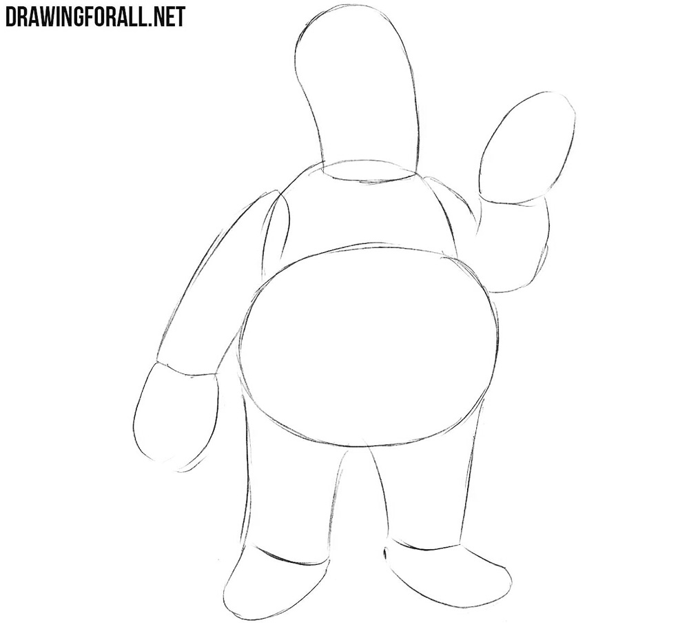 How to draw Dr Zoidberg step by step