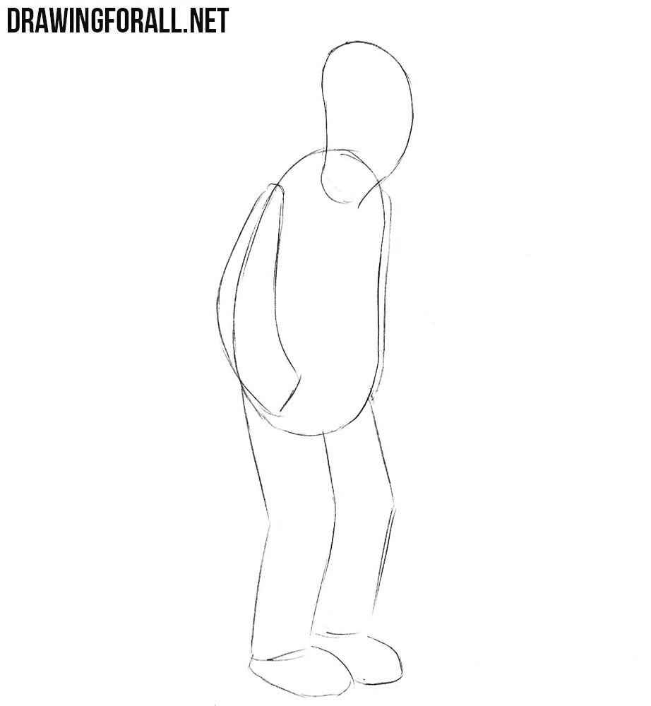 How to draw Fry