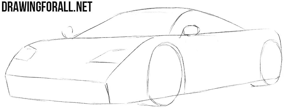 How to draw McLaren step by step