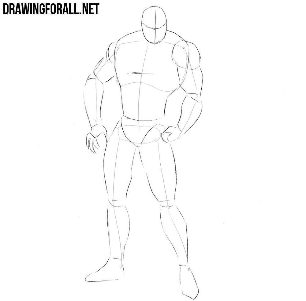 How to draw Sabretooth from marvel