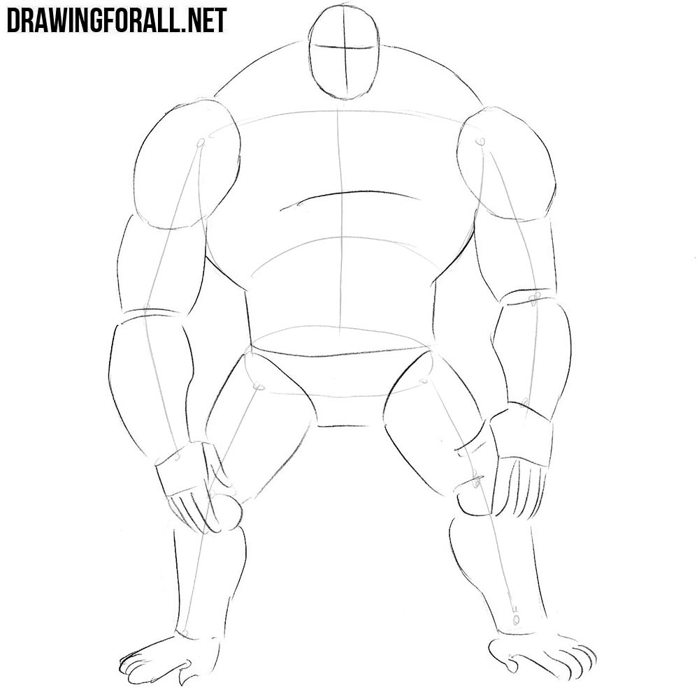 How to draw Sasquatch from comics